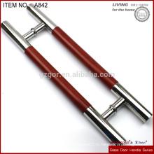 Стеклянная ручка с виниловой наклейкой