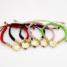 Verstellbare Luxus berühmte Marke Liebe 18k Gold Herz Armbänder Armreifen Pulseira Fine Modeschmuck