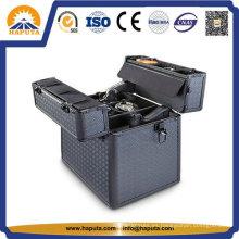 Caja de arma de aluminio negro de encargo de calidad superior con ABS Panel