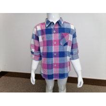 Повседневная рубашка для мальчиков осенью и весной