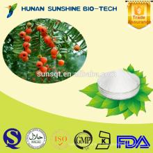 Melhor qualidade Taxus chinensis PE pó 98% Taxol