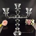 Centre de table en cristal candélabre