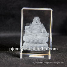 3d Crystal Buddha Model as Souvenir of gifts