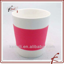 ceramic mug with silicon