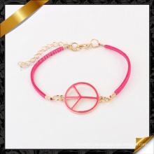 Esmalte paz perlas pulseras, pulseras de joyería (fb089)