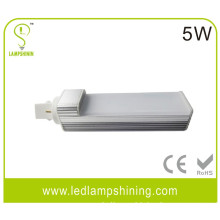 G24 PLC 5w led plug light with cover - sylvania 13w cfl replacement
