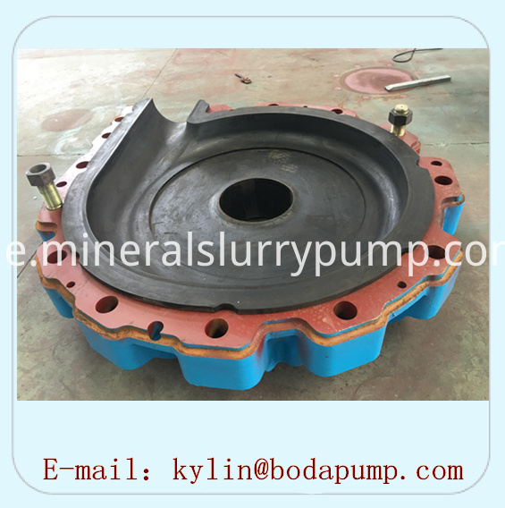Rubber pump Pump shell