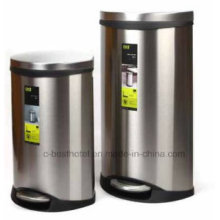 Inox Aço Inoxidável Dustbin Aço Inoxidável F