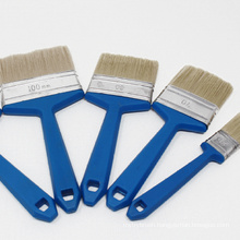 Multi Size Plastic Handle Tinplated Ferrule Paint Brush Set Oil Paint Brush