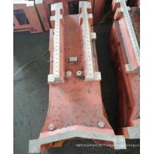 Serviço personalizado de fabricação de aço para usinagem de grandes componentes