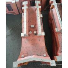 Service de fabrication d'acier d'usinage de gros composants sur mesure