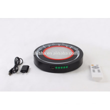neue Design 10-Zoll-Wasserpfeife Shisha Musik USB-LED-Licht