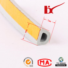 Car Accessory Foamed Door Seal Rubber Strip with Adhesive
