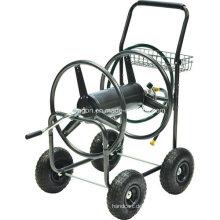 Garten-Wasserschlauch-Spulen-Vierradwagen
