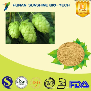 2015 New Certified Organic Beer Flower Extract /Flavonoids,Xanthohumol Hops Flower Extract for Beer