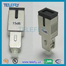 SC / PC Sm Atenuador de fibra óptica macho a hembra