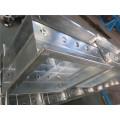 Amortiguador rotativo de aluminio del control de volumen para el sistema de HVAC que forma la máquina de China Supplier