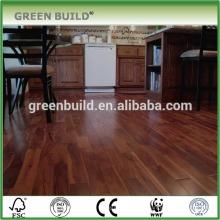 Piso de madeira de teca plana de fácil instalação