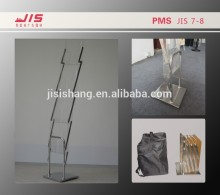JIS7-8 economic a4*4 customised size display exhibition trade show usage acrylic magazine stand