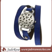 Vogue Lady Leather Wrist Watch&Women Alloy Watch