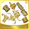 "Brass quick coupling, camlock coupling, size from 1/2"" to 8"", type a b c d e f dc dp"