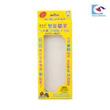 boîte d'emballage de stylo d'enfants pas cher avec poignée découpée