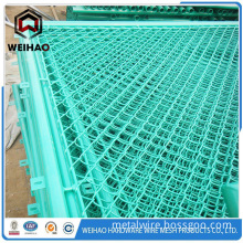 PVC coated galvanized chain link fence