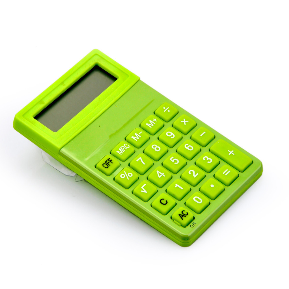 8 Digits Small Colorful Pocket calculator for Kids