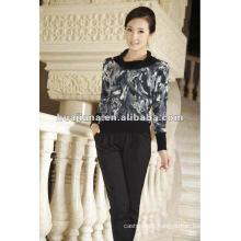 Elegant women's mongolian Cashmere sweater