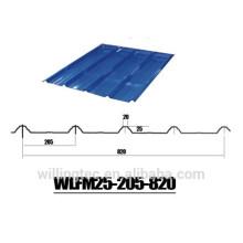 Folha ondulada galvanizada para telhado / parede