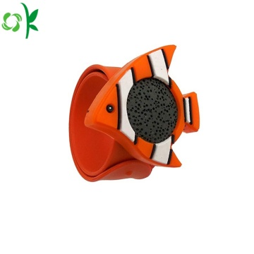 Cartoon Fish Silicone Insect Repellent Armband för barn