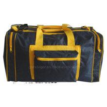 Спортивная сумка из полиэстера 70d с контрастным суставом