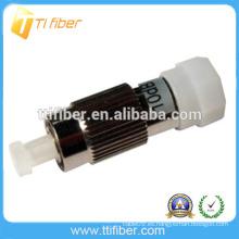 Atenuador óptico de fibra monomodo macho a hembra de FC