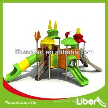 Sport Serie Zug Outdoor Spielplatz Ausrüstung LE.TY.009 Spielplatz Rutsche, Outdoor-Spielplatz Struktur für Park