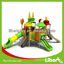 Sports Series train outdoor playground equipment LE.TY.009 amusement playground slide, outdoor playground structure for park