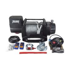 Motor potente guincho elétrico 12v / 24v 20000lbs