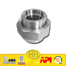 Approved ISO & ABS class3000 carbon steel socket weld union
