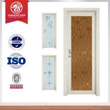 Porta de nigeria porta de banheiro de alumínio porta de vidro interior escolha de qualidade