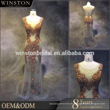 Großhandelsneue Entwürfe wulst Taillenkurzschlußabendkleider für Mädchen