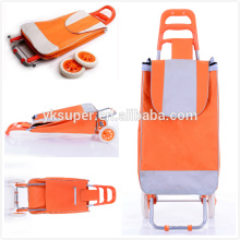 New style foldable Shopping Trolley,Compact Oxford Fabric Shopping cart