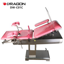 DW-C01C électrique Table d'opération chirurgicale Table d'opération chirurgicale médicale lit gynécologique électrique