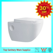 china manufacturer ceramic wall hung toilet in low price
