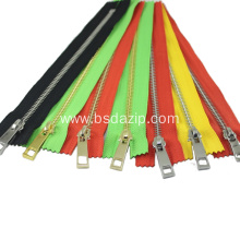 Reliable for Open End Zipper High Quality as Ykk No. 3 Metal Zipper supply to France Exporter