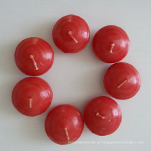 Vela de flutuação do mini chá impermeável da cor de Unscented para a decoração