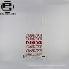 Exportación que usted bolsos de plástico baratos de la camiseta