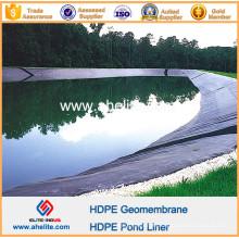 LLDPE LDPE PVC EVA HDPE Geomembrana para revestimientos de estanques