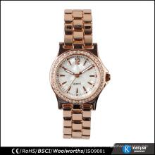 Vogue Kristall Frauen Uhren, benutzerdefinierte Quarzuhren