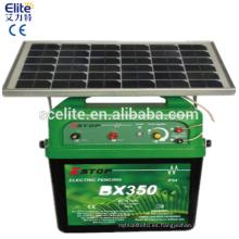 40 KM de energía eléctrica solar valla con caja
