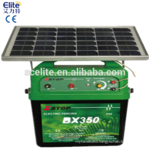 40 KM solar electric fence energizer with box