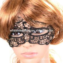 Сексуальная черная маска для танцев в маске с кружевами